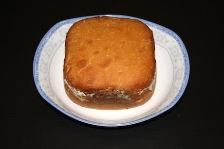 面包机烤出来的面包